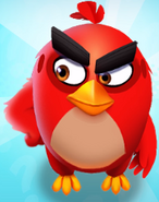 Angry Birds Match Red