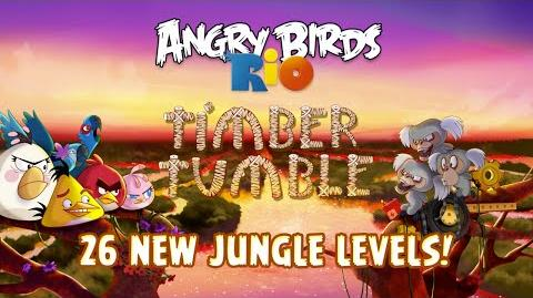 Angry Birds Rio - Timber Tumble Gameplay Trailer!