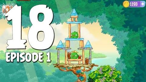 Angry Birds Stella Level 18 Walkthrough Branch Out Episode 1