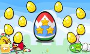Easter Eggs Golden Eggs