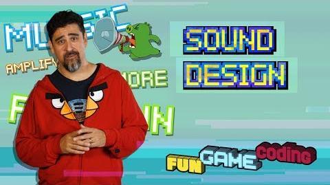 Angry Birds Fun Game Coding - Sound Design - S1 Ep4