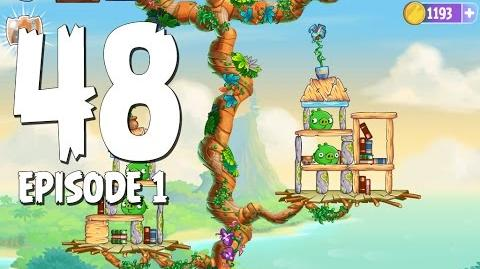 Angry Birds Stella Level 48 Walkthrough Branch Out Episode 1