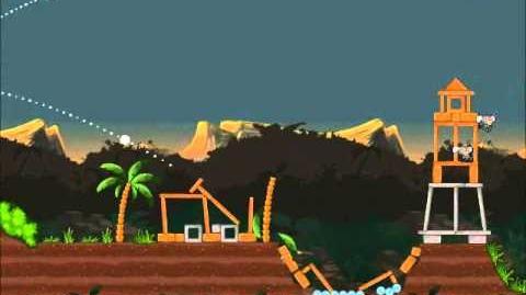 Official Angry Birds Rio Walkthrough Jungle Escape 4-5