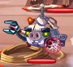 Большой белый дрон