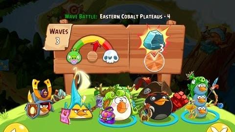 Angry Birds Epic Eastern Cobalt Plateaus Level 4 Walkthrough