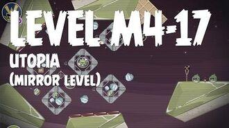 Angry Birds Space Utopia Level M4-17 Mirror World Walkthrough 3 Star