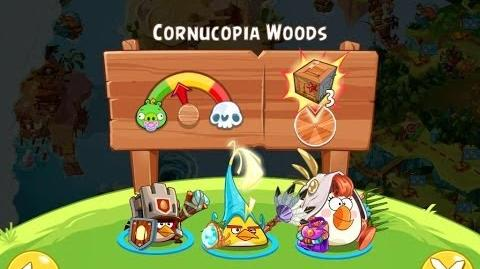 Angry Birds Epic Cornucopia Woods Walkthrough