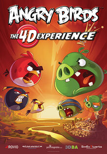 Angry Birds- The 4-D Experience