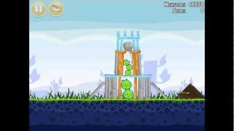 Angry Birds Poached Eggs 1-5 Walkthrough 3 Star