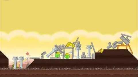 Official Angry Birds Walkthrough The Big Setup 10-2