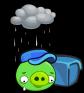 Postman Pig (Sad)