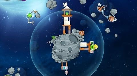 Angry Birds Space Beak Impact 8-21 Walkthrough 3 Star