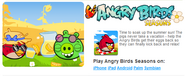 Angry Birds Summer Seasons