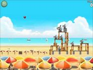 Official Angry Birds Rio Walkthrough Beach Volley 6-12