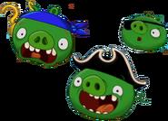 Свиньи-пираты дженга