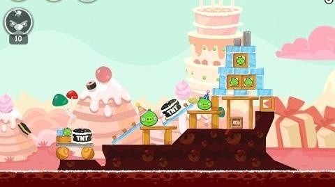 Angry Birds Birdday Party Cake 4 Level 6 Walkthrough 3 Star