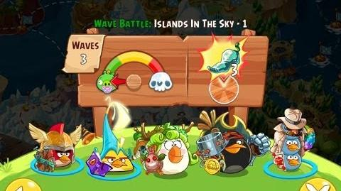Angry Birds Epic Islands in the Sky Level 1 Walkthrough
