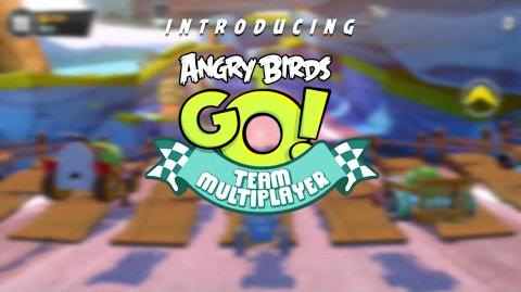 Angry Birds Go! – Team Multiplayer Gameplay Trailer