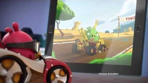Angry Birds Go! Telepods commercial featuring Red