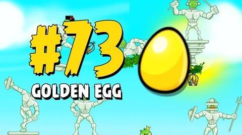 Angry Birds Seasons Marie Hamtoinette Golden Egg 73 Walkthrough