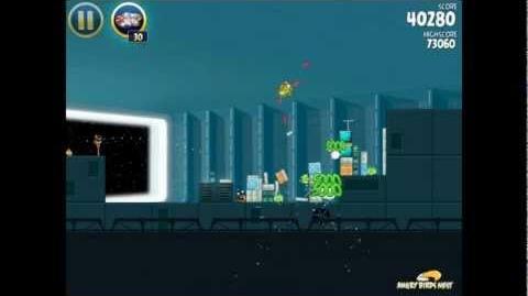 Death Star 2-28 (Angry Birds Star Wars)/Video Walkthrough