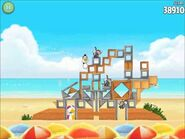 Official Angry Birds Rio Walkthrough Beach Volley 6-5