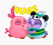 ABM Stickers - Hugging Hatchlings