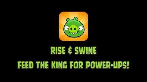 Атрибут/Bad Piggies Rise and Swine обновят, у короля будет новая способность