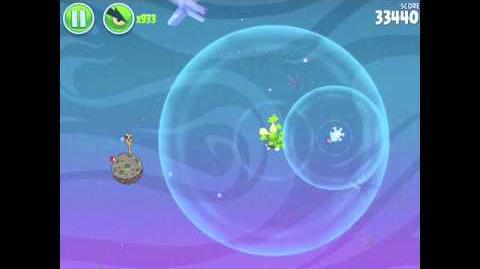 Angry Birds Space Fry Me to the Moon 3-5 Walkthrough 3-Star