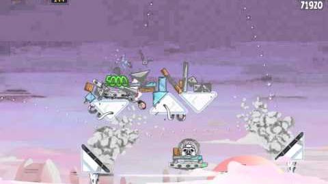 Cloud City 4-3 (Angry Birds Star Wars)/Video Walkthrough