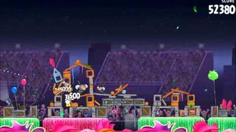 Official Angry Birds Rio Walkthrough Carnival Upheaval 8-4