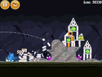 Official Angry Birds Walkthrough Mine and Dine 15-14