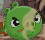 Свинёнок разозлён