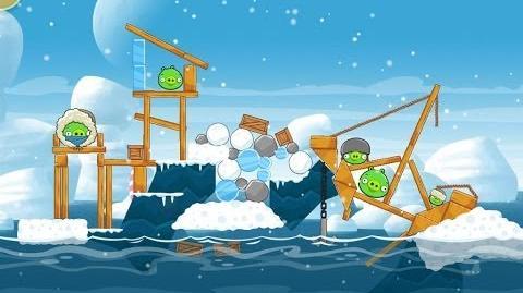 Angry Birds Seasons Arctic Eggspedition 1-15 Walkthrough 3 Star