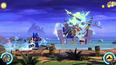 Angry Birds Transformers Official Gameplay Trailer!