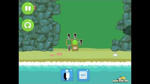 Bad Piggies Ground Hog Day 1-15 Walkthrough 3 Star
