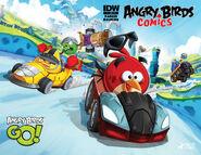 Angry Birds Go! Komiks San Diego