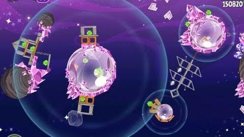 Angry Birds Space Cosmic Crystals 7-26 Walkthrough 3 Star