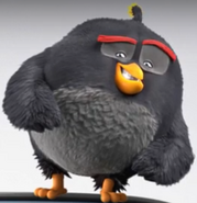 The Angry Birds Movie Bomb Doing Cool Pose