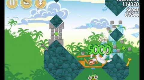 Angry Birds 21-3 Bad Piggies 3 Star Walkthrough (Angry Birds Classic 21-3)