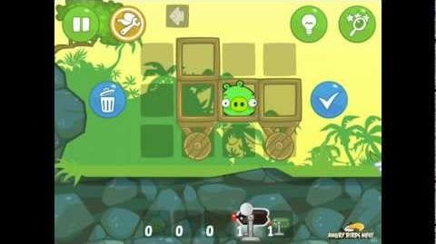 Bad Piggies Ground Hog Day 1-11 Walkthrough 3 Star