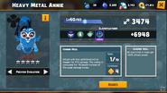 Heavy Metal Annie 1 Evolution Abilities