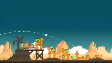 Official Angry Birds Walkthrough Ham 'Em High 14-17