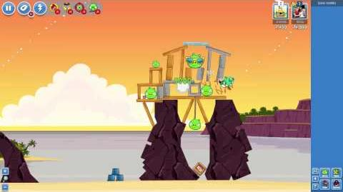 Pigini Beach! Bouncy new levels in Angry Birds Friends