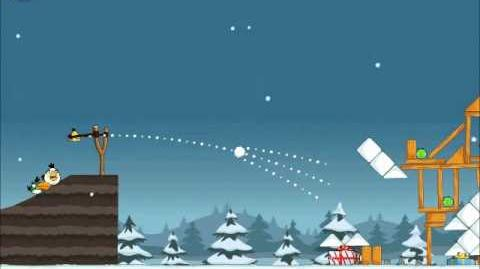 Official Angry Birds Seasons Walkthrough Season's Greedings 1-4