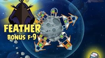Angry Birds Space Level F-9 Beak Impact Space Eagle Walkthrough