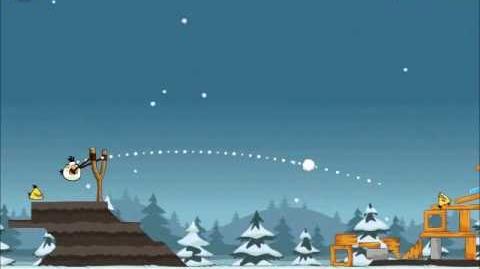 Official Angry Birds Seasons Walkthrough Season's Greedings 1-11