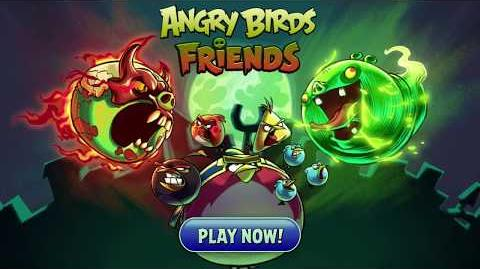 Angry Birds Friends Halloween 2017 Double Trouble