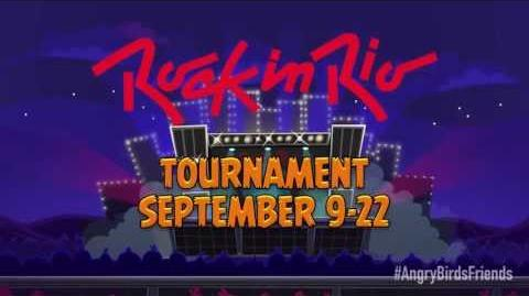 Angry Birds Friends special tournament Rock in Rio