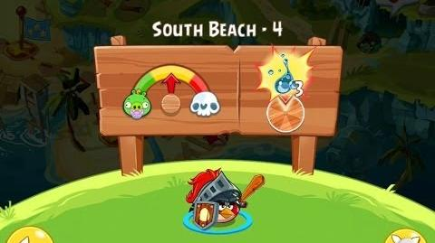Angry Birds Epic South Beach Level 4 Walkthrough